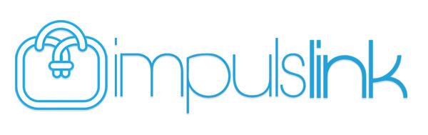Logo ImpulsLink versión fondo blanco