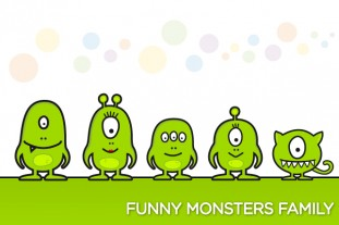 funny_monster_family