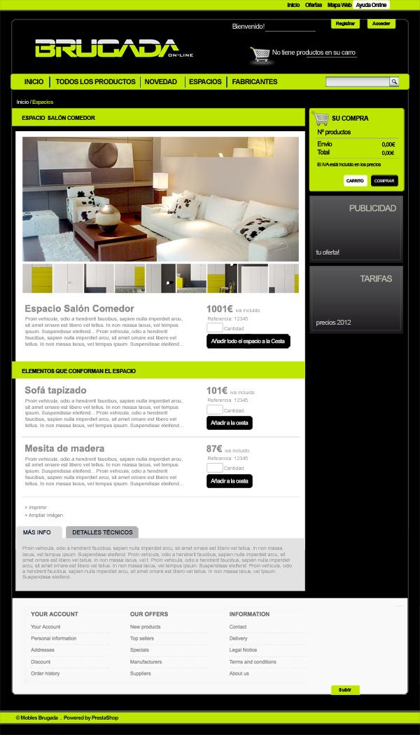 web de muebles online finest el poder de la sencillez