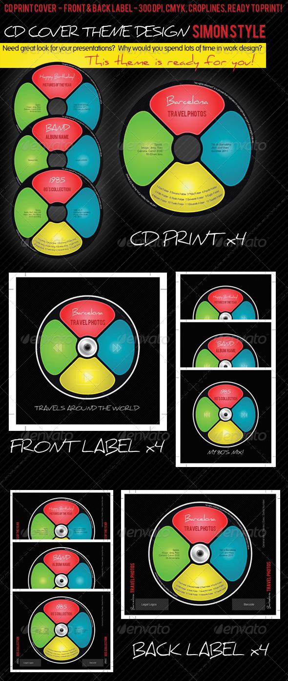 imagen del cd al estilo simon