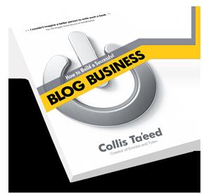 Libro de negocios a través de un blog