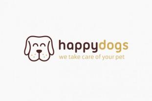 Logo con imagen de perro