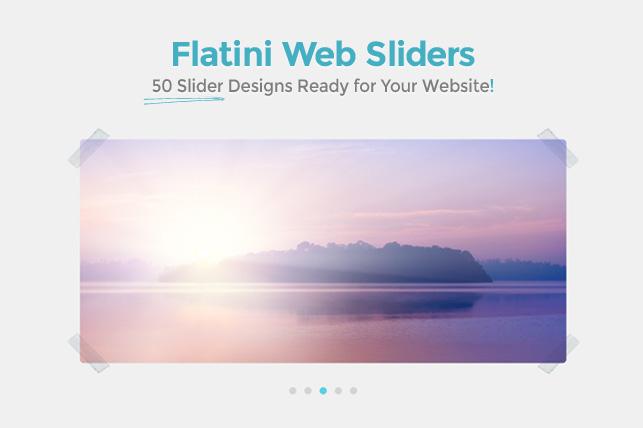 Caratula Flatini Web Sliders